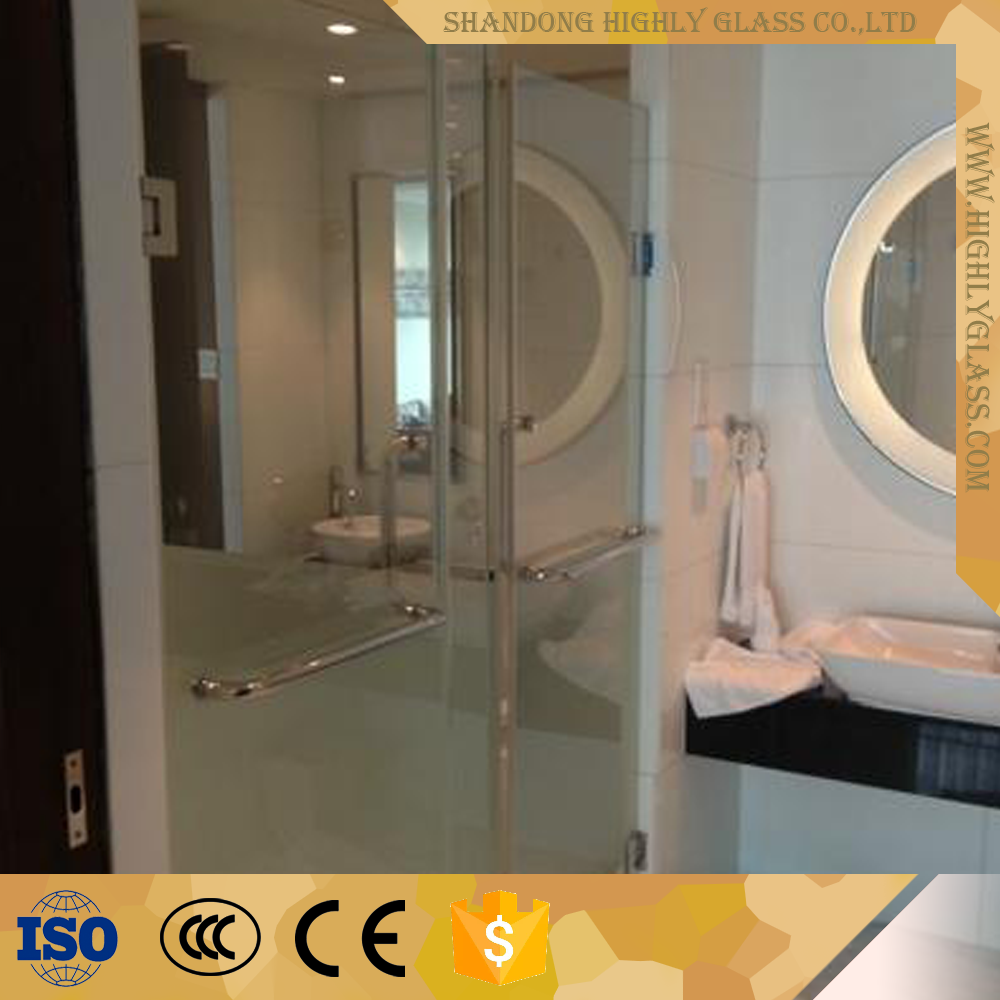 Decorative bathroom door glass,bathroom window glass,tempered bathroom glass with cheap price