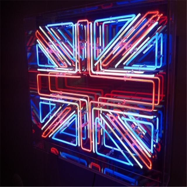 Custom British Flag Neon Sign A Frame Flag Sign