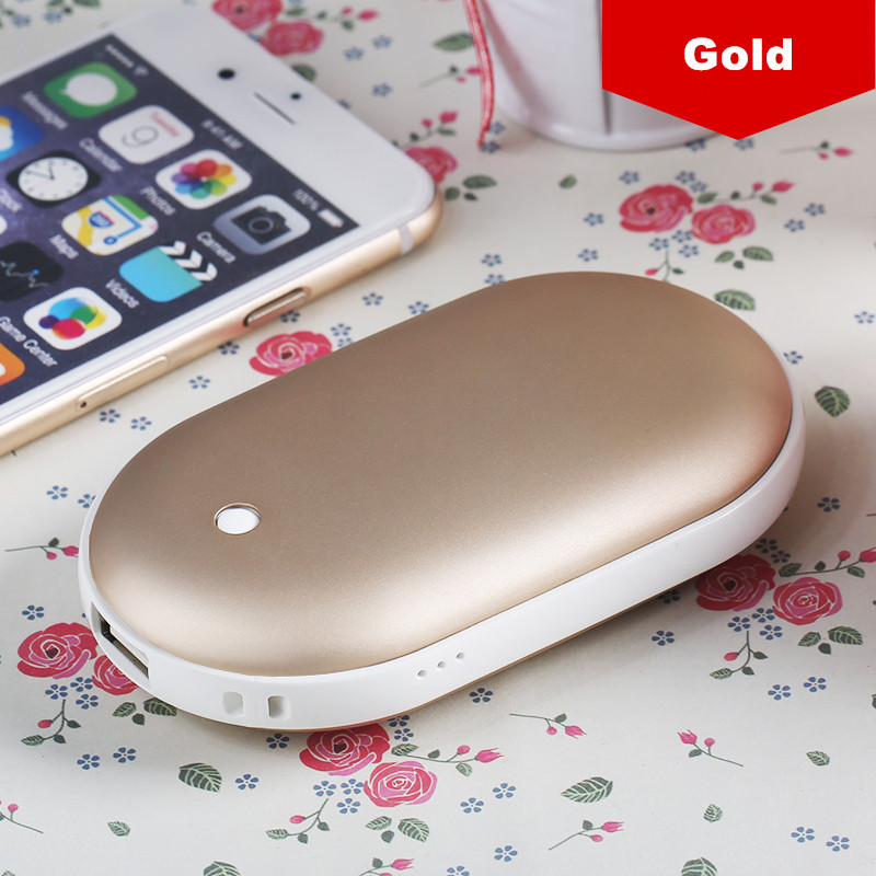 5200mAh fast heat and ware enough double <strong>heating</strong> hand warmer power bank