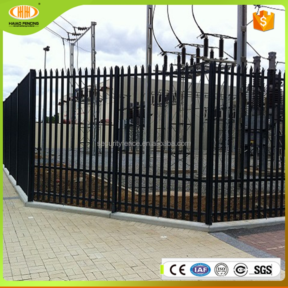 Wholesale cheap durable palisade fencing panels,palisade panels