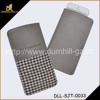 Hot Casual Houndstooth Stylish Slim Cell Phone Case