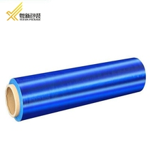 2017 new hot blue color plastic wrapping ldpe film