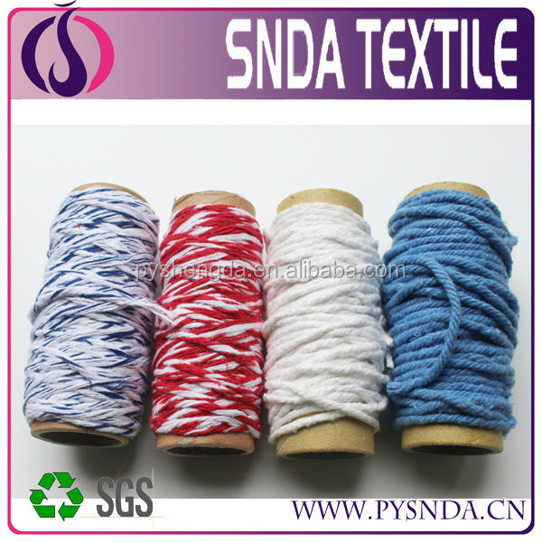 4 plies open end cotton yarn Ne 0.5s recycled yarn for mop
