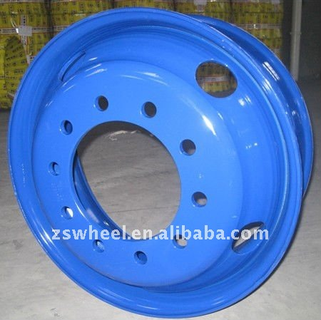10 bolt hole wheel rim 22.5*8.25 for trucks