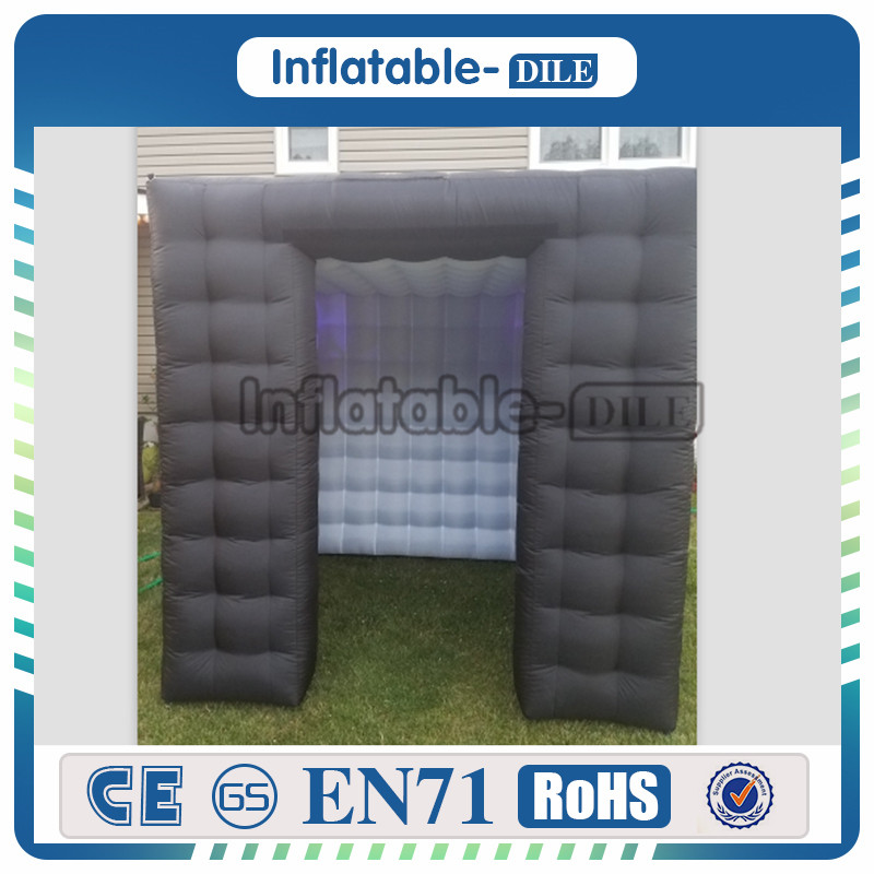 LED Portable custom black inflatable photo booth promotion,Portable Inflatable Photo Booth Using Buying A Photo Booth