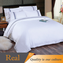 2017 New design wholesale white hotel duvet cover