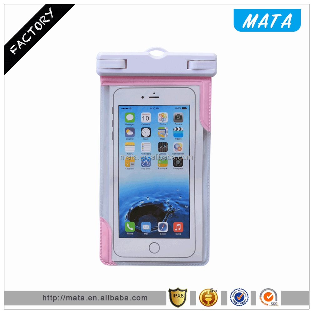 Free Sample Waterproof Phone Case for ZTE Zmax Pro Waterproof Case with IPX8 Certificated (up to 6' inch)