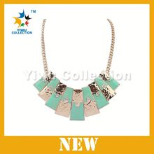 Fast delivery New design fashion key byzantine chain necklace