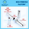 Eco-Friendly Cylinder Cord End Cap/Metal Draw Cord Stopper