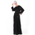 spring gorgeous flattering casual long sleeve girl modest dress latest drisgn muslim maxi dress with long sleeve