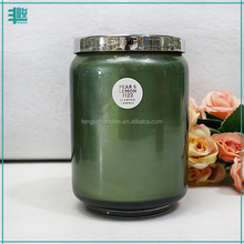 wholesale cheap price specialized paraffin wax scented art candle hand painted glass candle