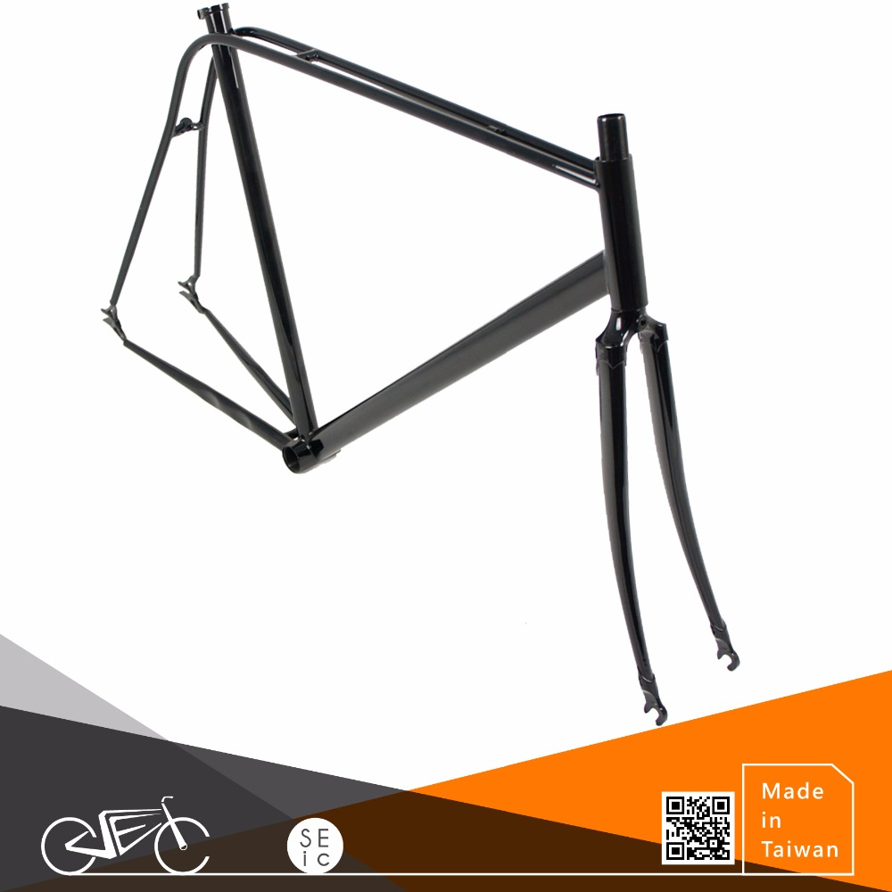 Bike Double tube Frame set Classic Vintage Lugged Bicycle Frameset