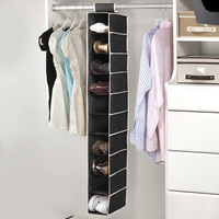 Home Six Shelf Sweater Organizer shoes hanging closet