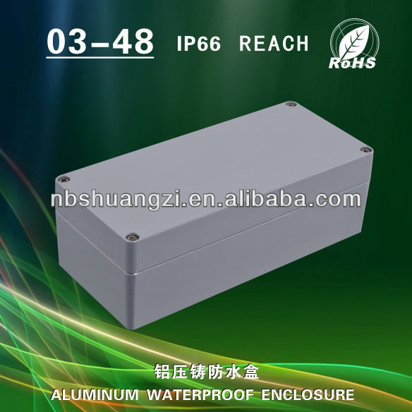 Anodized Aluminum Waterproof Enclosure For Electronic