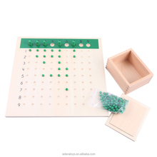 Montessori Teaching Aids:C114 Division Bead Board Mathematic Educational Toys