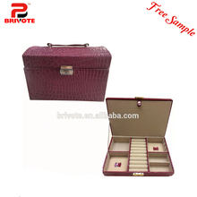 luxury white cardboard leather wine carrier box/leather sunglasses box/hot stamping foil faux leather book safe box