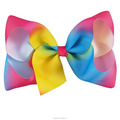 Hot Sale 6 Inch Rainbow Hair Bow Wholesale BH1531-1