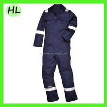 High visibility safety logistics multi pockets workwear with cotton/Nylon fabric