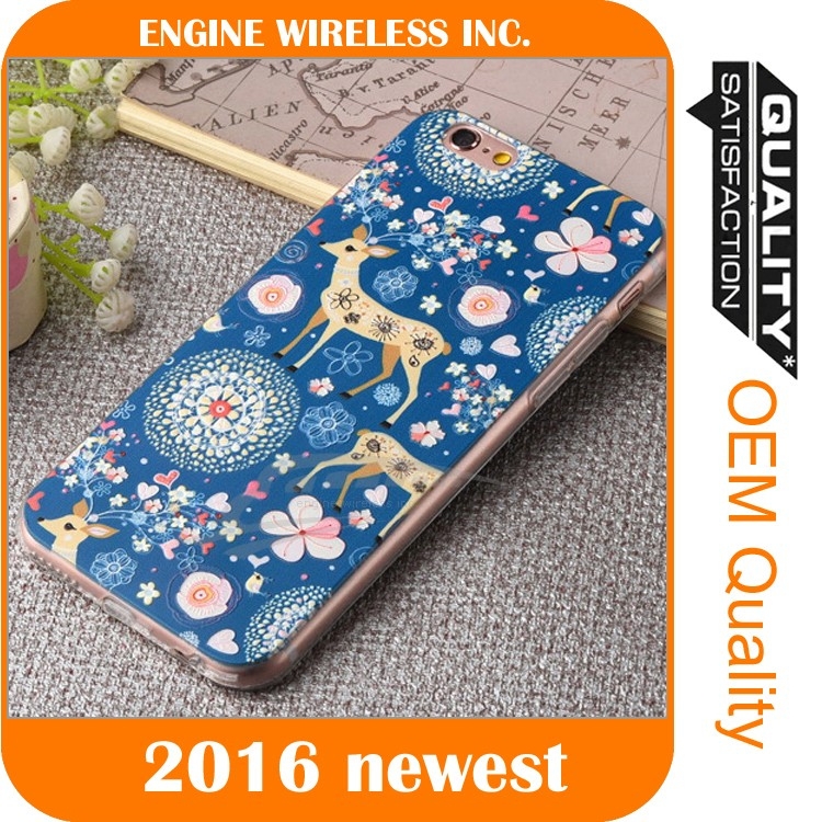 cell phone case printing machine case for iphone 6, for iphone hard case