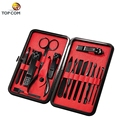 stainless steel manicure pedicure set tools hand manicure kit