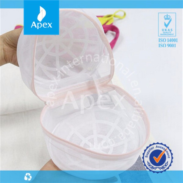 High quality laundry bag for bra with zipper
