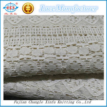 Guangzhou Market Cheap Cotton Nylon Lace Fabric
