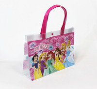 New Design Fashion Beach Bag Clear PVC Tote Bag with Button