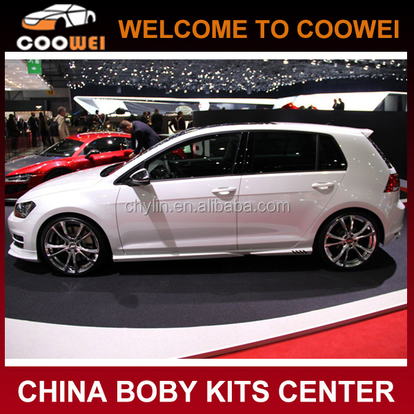 Top Quality PP Material A Design Golf 7 Body Kit for VW Fit Golf VII MK7