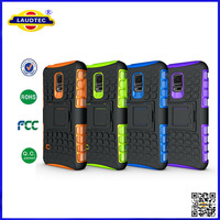 China Manufacturer Heavy Duty Shock Proof With Stand Phone Case Cover For Samsung Galaxy S5 mini--Laudtec