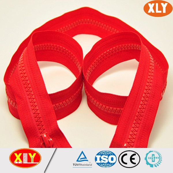 open end large plastic zipper for outdoor tent