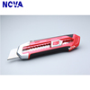 Fashionable Special 18mm Plastic Hand held Snap Off Knife Cutter With Soft Grip Handle