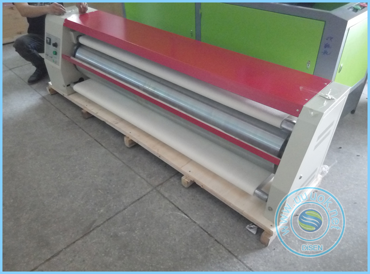 Cheap roller large format sublimation heat press cloth automatic fabric roll to roll heat transfer printing machine