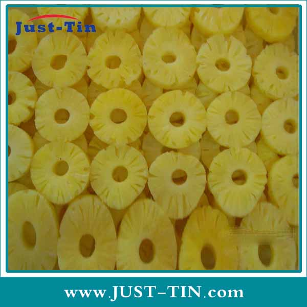High Quality Pineapple Slice/ring Canned Price