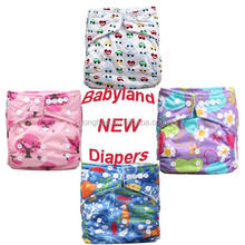 babyland cloth diapers with many new prints , free shipping sunny baby diaper sleepy diapers
