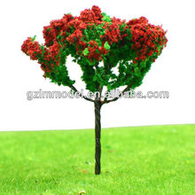 G Series Iron Wire Artificial Fower Tree Model for Train Layout HO scale/for model decoration/ model materials, accessories