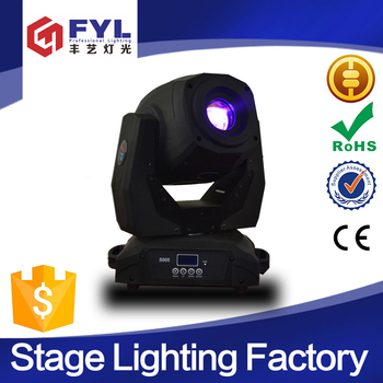 New disco Stage lighting 150W LED Moving Head Spot Light