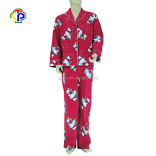 Fashion printed adult rayon flannel lounge pants pajamas sleepwear
