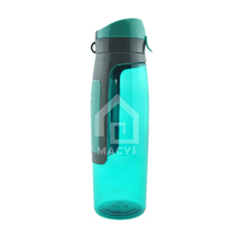 750ml plastic drink water bottle with storage compartment