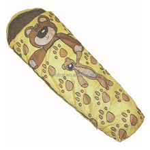 Popular cute animal prints children sleeping bag