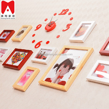 Family design to High Quality 20P Set is Photo Frames of Picture wood shadow box