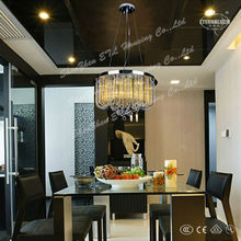 2013 new modern yellow glass chandelier pendant lightings for France ETL84258