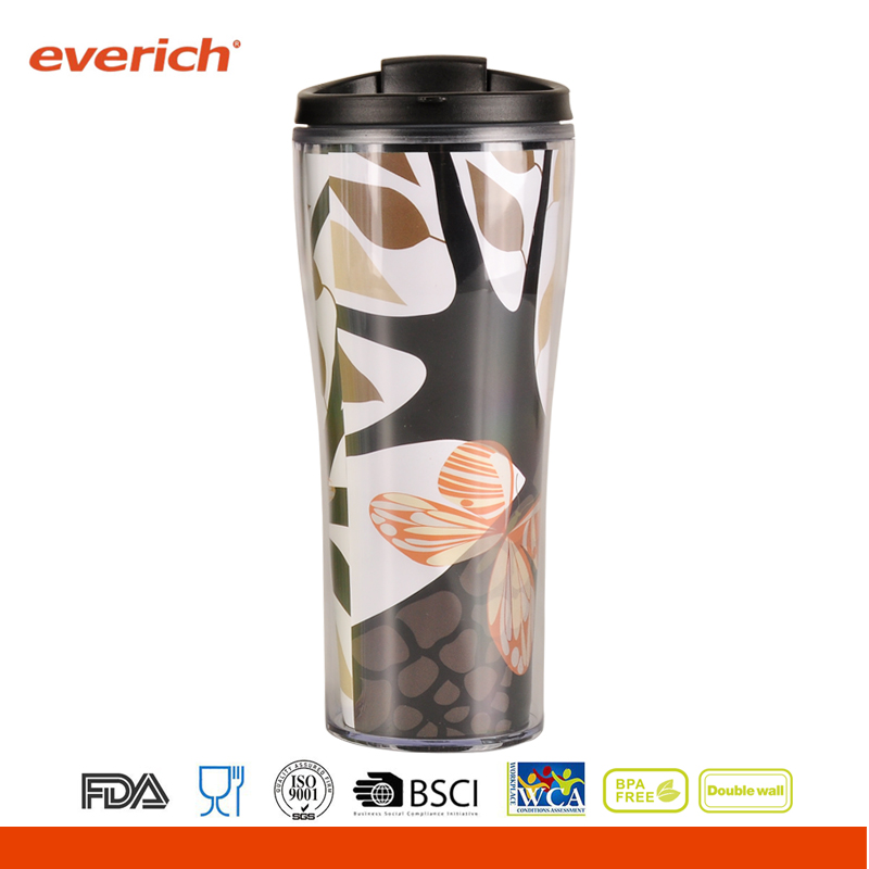Free Sample Plastic Plastic Drinking Water Bottle With Sealing Lid