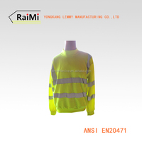 HiVis hoody safety reflective sweater ANSI EN20471 Class 2 reflective safety shirt reflective hoody