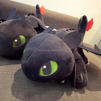 how to train your dragon plush toy stuffed black dragon toy boy's toy
