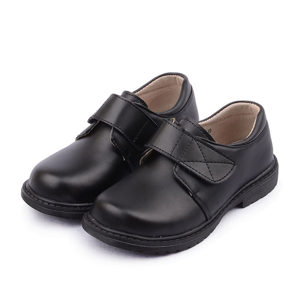 boys children leather school uniform shoes black boys school shoes