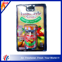 Top products hot selling air freshener household apple fragrance glass bottle gel air freshener