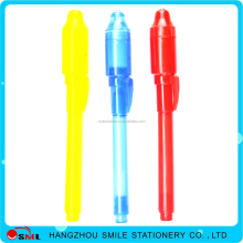 Wholesale Secret Message Invisible Ink Pen with UV Light with logo