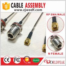 Factory Price RP SMA Male To N Female Adapter RF RG402 Coaxial Cable Assembly