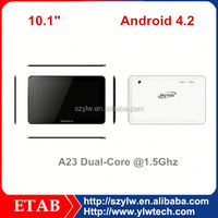 A23 dual core 1024*600 Screen 0.3+2.0 camera best 10 inch cheap tablet pc