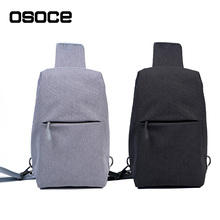 Small Single Wings Nylon Waterproof Men Sling Shoulder Bag